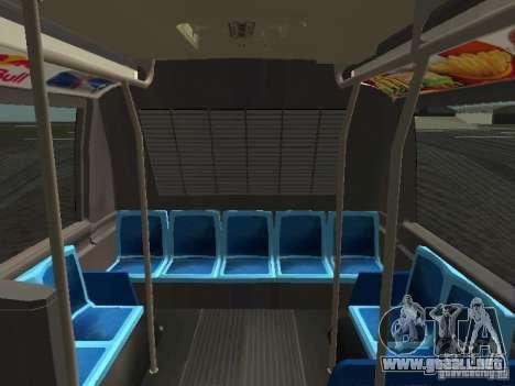 GMC RTS MTA New York City Bus para la vista superior GTA San Andreas