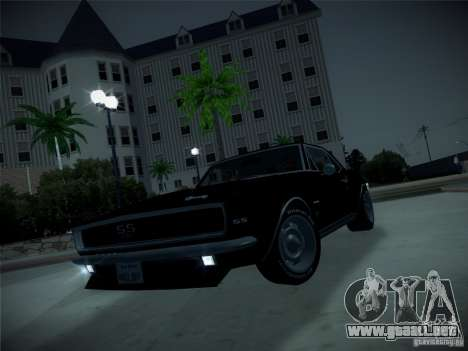 IG ENBSeries para GTA San Andreas octavo de pantalla
