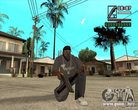 Millenias Weapon Pack para GTA San Andreas octavo de pantalla