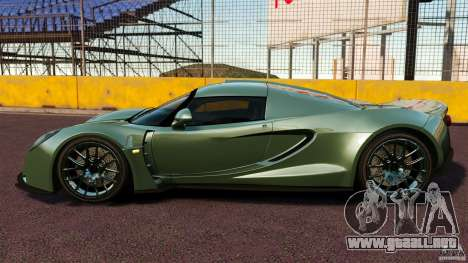 Hennessey Venom GT 2010 [EPM] para GTA 4 left