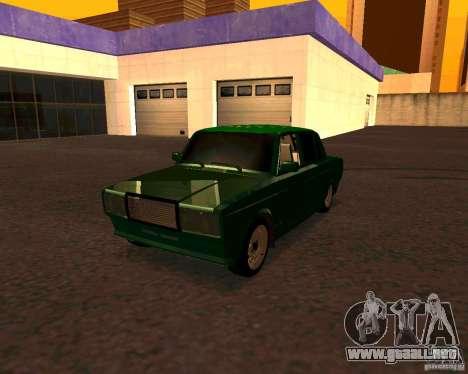 VAZ 2107 Hobo v. 1 para GTA San Andreas