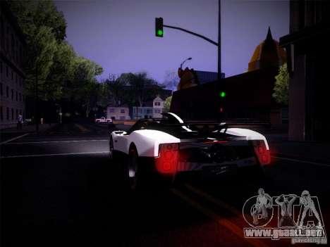 Realistic Graphics 2012 para GTA San Andreas sucesivamente de pantalla