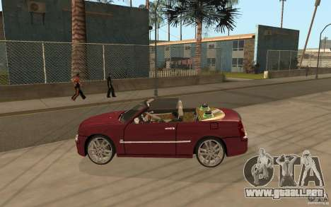 Chrysler 300c Roadster Part2 para GTA San Andreas left