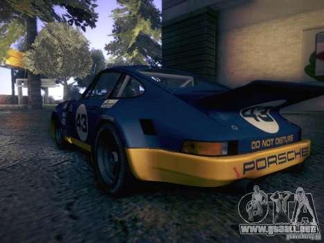 Porsche 911 Carrera RSR1974 3.0 para la visión correcta GTA San Andreas
