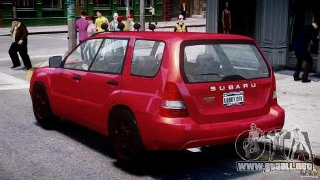 Subaru Forester v2.0 para GTA 4 visión correcta