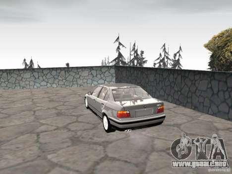 BMW 320i para GTA San Andreas left