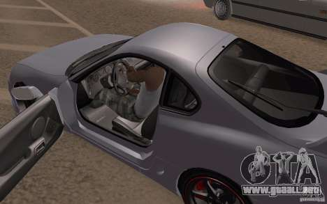 Toyota Supra Mark IV para visión interna GTA San Andreas