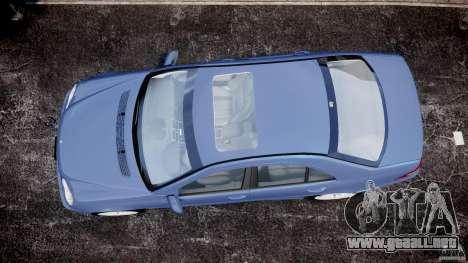 Mercedes-Benz C32 AMG 2004 para GTA 4 visión correcta
