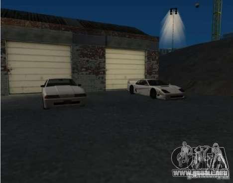 Armas y coches por todo el mapa para GTA San Andreas segunda pantalla