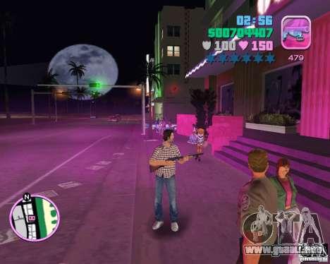 Vaqueros y camisa a cuadros para GTA Vice City tercera pantalla