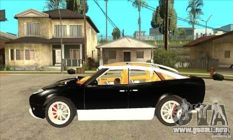 Spyker D8 Peking-to-Paris para GTA San Andreas left