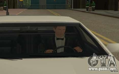 Agente 007 para GTA San Andreas quinta pantalla