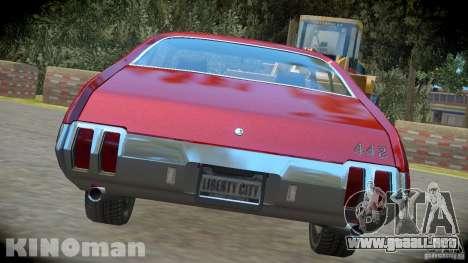 Oldsmobile 442 para GTA 4 left
