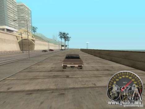 Lamborghini velocímetro para GTA San Andreas sucesivamente de pantalla