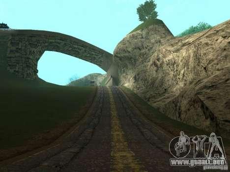 Nuevos caminos en Vajnvude para GTA San Andreas