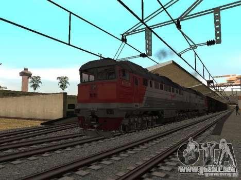 Final de ferrocarril mod IV para GTA San Andreas sucesivamente de pantalla