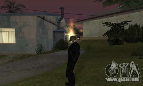 Ghost Rider para GTA San Andreas segunda pantalla