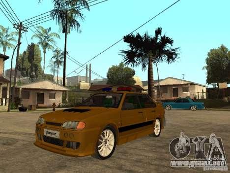 VAZ 2115 policía coches Tuning para GTA San Andreas