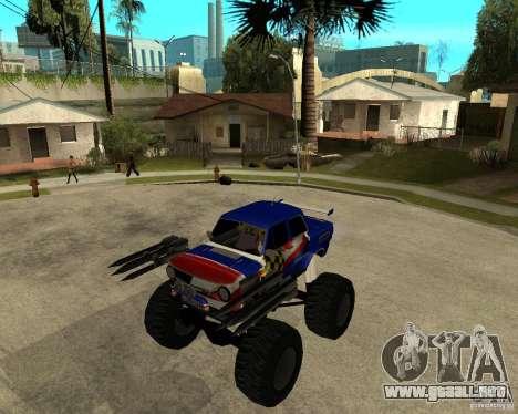 MONSTRUO ZAZ para GTA San Andreas