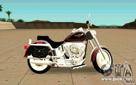 Harley Davidson FatBoy (Terminator 2) para GTA San Andreas left