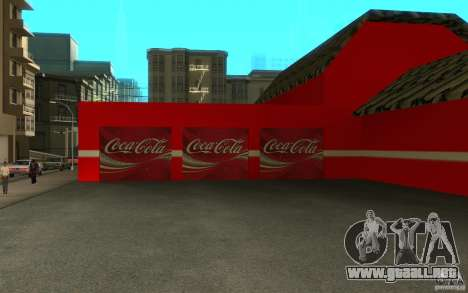 Coca Cola Market para GTA San Andreas tercera pantalla