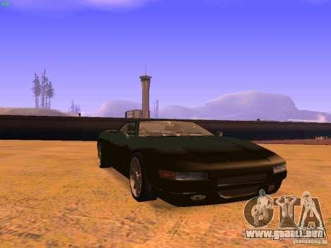 Infernus Revolution para vista inferior GTA San Andreas