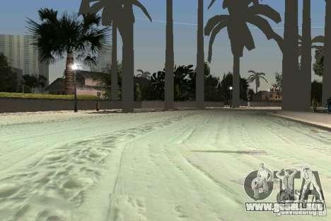 Snow Mod v2.0 para GTA Vice City quinta pantalla