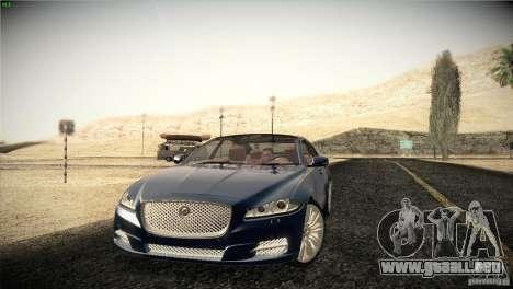 Jaguar XJ 2010 V1.0 para las ruedas de GTA San Andreas