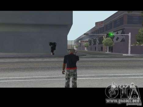 Llamada vendedor armas v1.1 para GTA San Andreas segunda pantalla