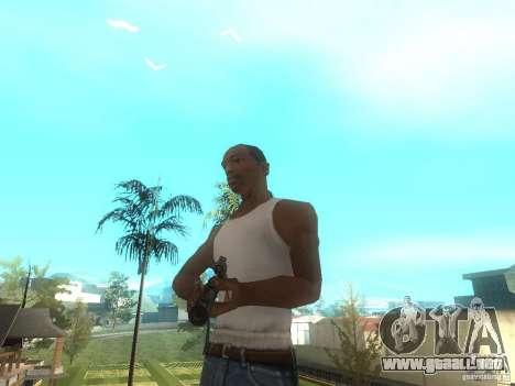 Rifle VSS Vintorez para GTA San Andreas tercera pantalla
