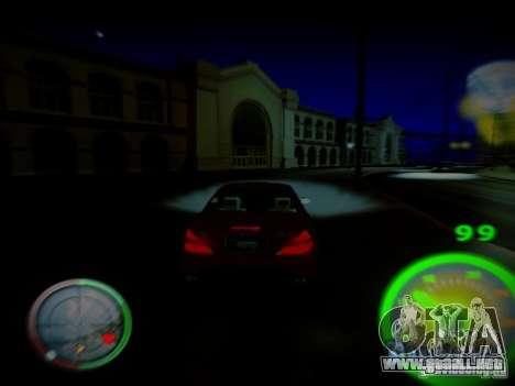 Velocímetro de Centrale para GTA San Andreas segunda pantalla
