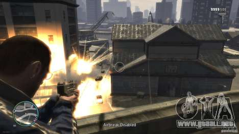 Micro Uzi Rocket Mod para GTA 4 segundos de pantalla