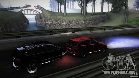 BMW X5 with Wagon BEAM Tuning para visión interna GTA San Andreas