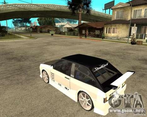 VAZ 2108 extrema para GTA San Andreas left