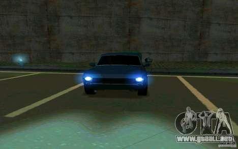 Volga GAZ 24 v2 (beta) para GTA San Andreas vista hacia atrás