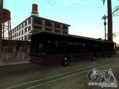 Trolebús LAZ E301 para GTA San Andreas left