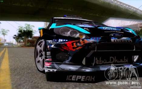 Ford Fiesta 2013 v2.0 para visión interna GTA San Andreas
