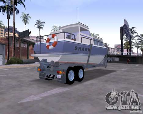 Boat Trailer para GTA San Andreas left