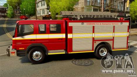 Mercedes-Benz Atego NMBMM [ELS] para GTA 4 left