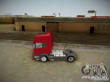 Scania R580 Topline para GTA San Andreas left
