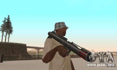 Pack armas de Star Wars para GTA San Andreas novena de pantalla