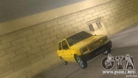 VAZ 1111 Oka sedán para GTA Vice City visión correcta