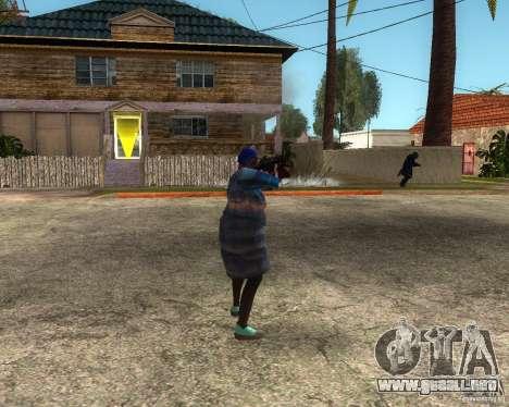 Gangsta Granny para GTA San Andreas segunda pantalla