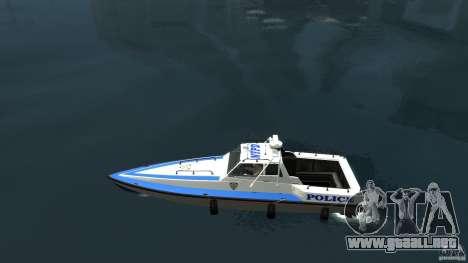 NYPD Predator para GTA 4 left