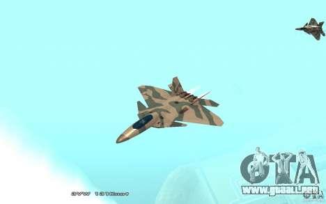 F/A-22 Velociraptor para GTA San Andreas left