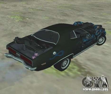 Bullet GT from FlatOut 2 para la visión correcta GTA San Andreas