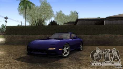 Mazda RX-7 FD 1991 para GTA San Andreas