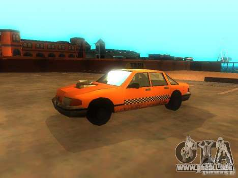 Crazy Taxi para GTA San Andreas left
