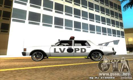 Police Hero v2.1 para GTA San Andreas left