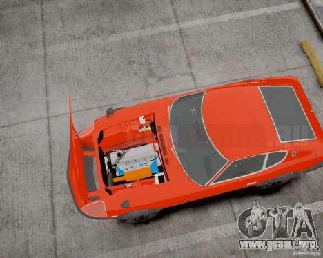 Nissan Fairlady Z HS30-240Z para GTA 4 Vista posterior izquierda